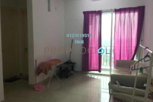 For Rent Serviced Residence at De Centrum City, Kajang Freehold Semi Furnished 2R/1B 1.5k
