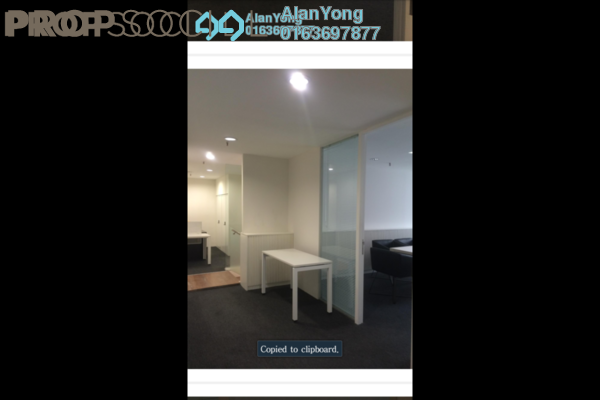For Rent Office at d6, Sentul Freehold Fully Furnished 0R/0B 6.5k
