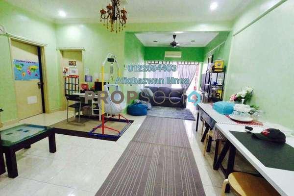 For Sale Apartment at Taman Cheras Intan, Batu 9 Cheras Freehold Semi Furnished 3R/2B 280k