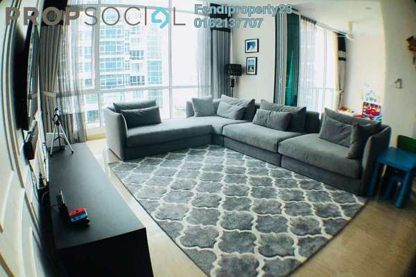 For Sale Condominium at Sunway Vivaldi, Mont Kiara Freehold Fully Furnished 4R/4B 2.4m