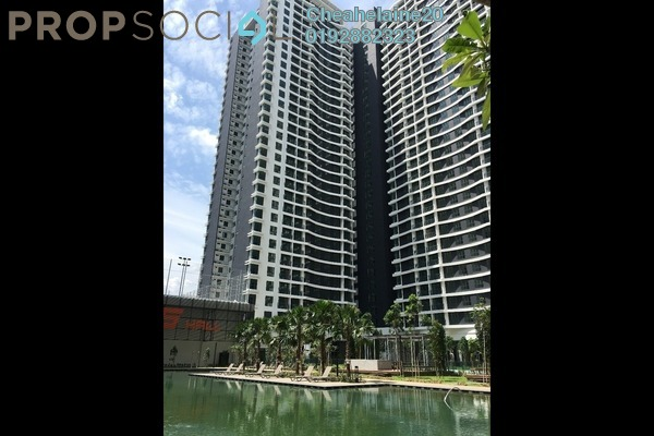 For Sale Condominium at KL Traders Square, Kuala Lumpur Freehold Unfurnished 3R/2B 517k