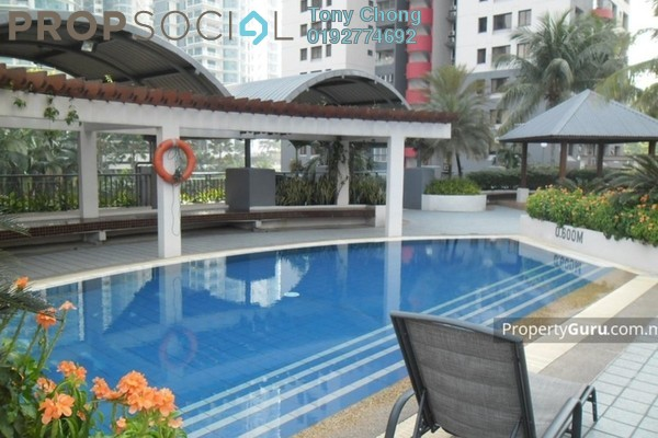 For Sale Condominium at Mont Kiara Palma, Mont Kiara Freehold Fully Furnished 3R/2B 900k