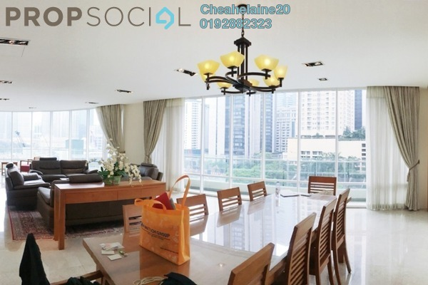 For Rent Condominium at The Oval, KLCC Freehold Fully Furnished 3R/5B 12k