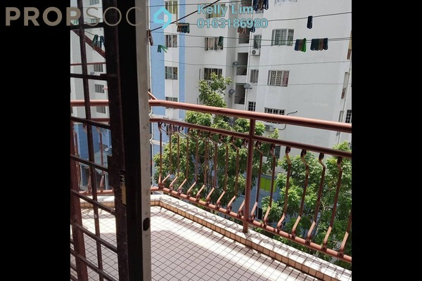 For Sale Apartment at Tasik Heights Apartment, Bandar Tasik Selatan Leasehold Semi Furnished 3R/2B 320k