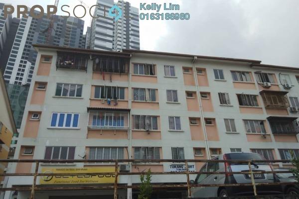For Sale Apartment at Taman Impian Indah, Balakong Freehold Unfurnished 3R/2B 170k