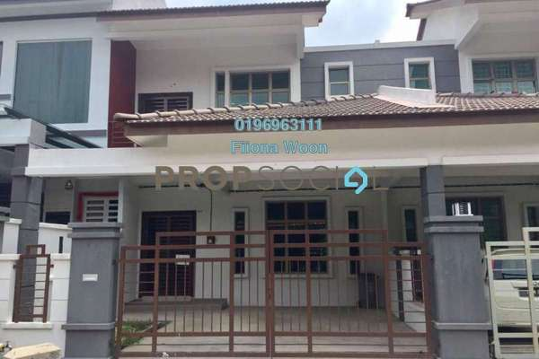 For Rent Terrace at Taman Cheng Perdana, Cheng Freehold Unfurnished 4R/3B 1.2k