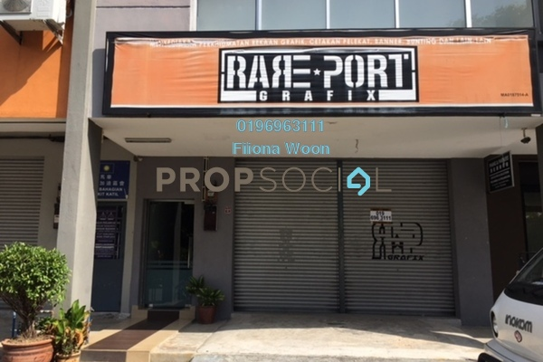 For Rent Shop at Taman Muzaffar Heights, Ayer Keroh Freehold Unfurnished 0R/2B 1.5k