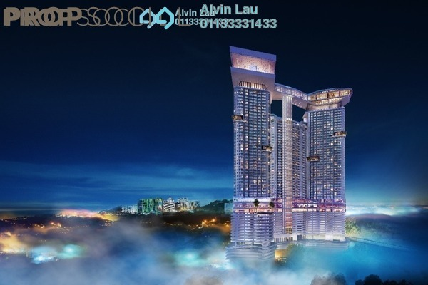 For Sale Condominium at Grand Ion Majestic, Genting Highlands Freehold Fully Furnished 1R/1B 485k