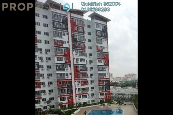For Rent Condominium at Diamond Residence @ Serdang, Seri Kembangan Freehold Fully Furnished 3R/2B 1.4k
