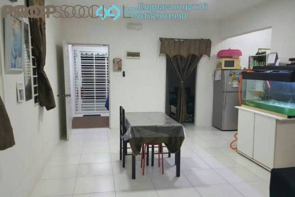 For Sale Apartment at Lakeview Apartment, Batu Caves Freehold Semi Furnished 3R/2B 290k