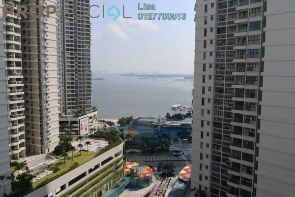 For Rent Condominium at Country Garden Danga Bay, Danga Bay Freehold Semi Furnished 2R/1B 1.3k