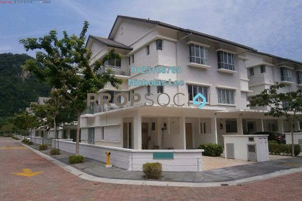 For Sale Townhouse at MontBleu Residence, Tambun Freehold Semi Furnished 3R/4B 680k