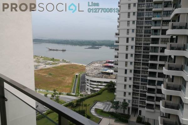 For Rent Condominium at Country Garden Danga Bay, Danga Bay Freehold Fully Furnished 2R/1B 1.5k