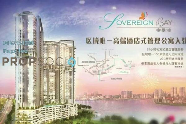 For Sale Condominium at Sovereign Bay, Bandar Baru Permas Jaya Freehold Semi Furnished 1R/1B 450k