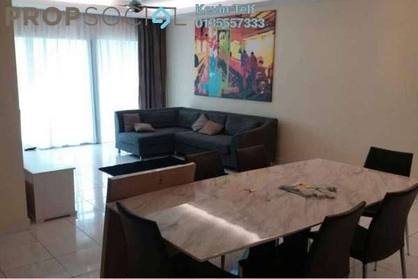 For Rent Condominium at Casa Kiara I, Mont Kiara Freehold Fully Furnished 3R/2B 3.5k