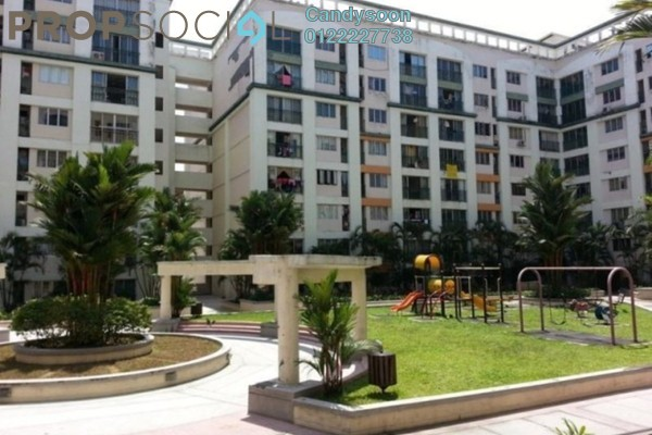 For Sale Condominium at Plaza 393, Cheras Freehold Semi Furnished 3R/2B 510k