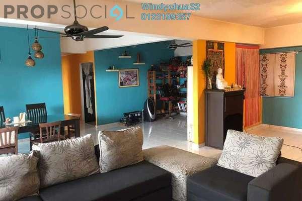For Sale Condominium at Endah Ria, Sri Petaling Freehold Semi Furnished 3R/2B 485k