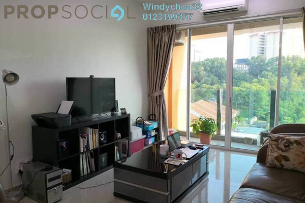 For Sale Condominium at The Zest, Bandar Kinrara Freehold Fully Furnished 3R/2B 580k