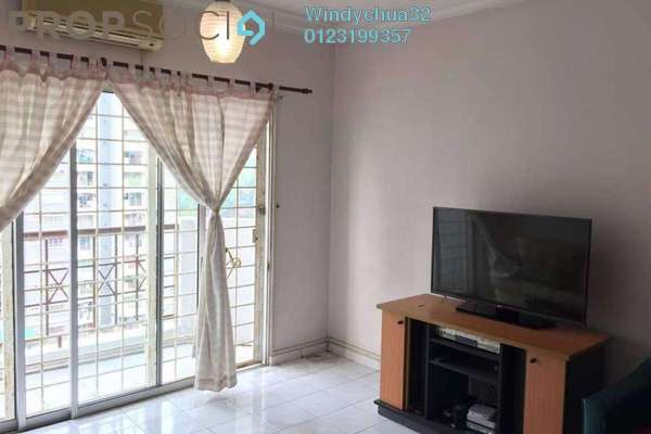 For Sale Condominium at Endah Ria, Sri Petaling Freehold Fully Furnished 3R/2B 399k