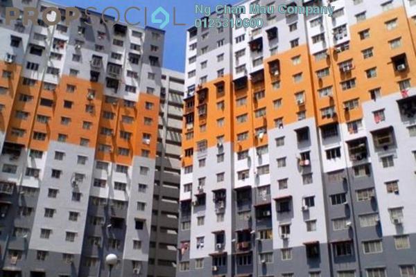 For Sale Apartment at Sri Penara, Bandar Sri Permaisuri Freehold Semi Furnished 2R/1B 180k