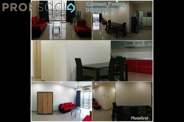 For Sale Condominium at Connaught Avenue, Cheras Freehold Fully Furnished 3R/2B 370k