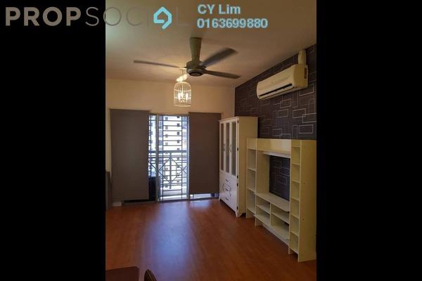 For Rent Apartment at Casa Riana, Bandar Putra Permai Freehold Semi Furnished 3R/2B 1.1k