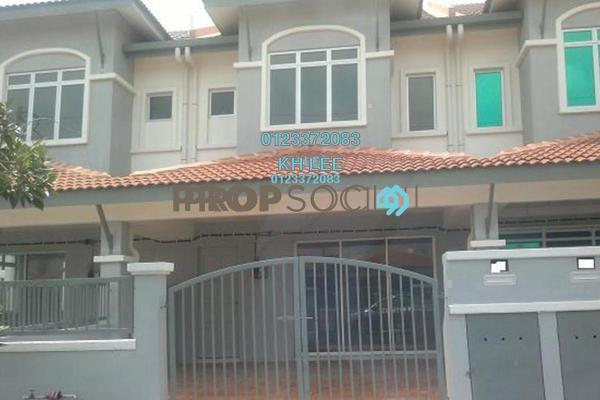For Sale Terrace at Taman Orkid, Klang Freehold Semi Furnished 4R/3B 408k