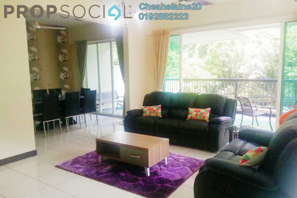 For Rent Duplex at Armanee Terrace I, Damansara Perdana Freehold Fully Furnished 4R/4B 4k