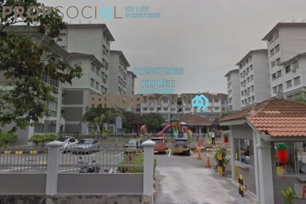 For Sale Apartment at Fairville, UEP Subang Jaya Freehold Semi Furnished 3R/2B 409k