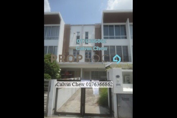 For Sale Townhouse at Taman Tasik Prima, Puchong Freehold Unfurnished 3R/2B 343k