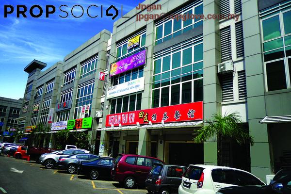 For Rent Shop at Puteri Central, Bandar Puteri Puchong Freehold Unfurnished 0R/0B 1k