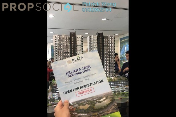 For Sale SoHo/Studio at Plaza Kelana Jaya, Kelana Jaya Freehold Unfurnished 1R/1B 320k