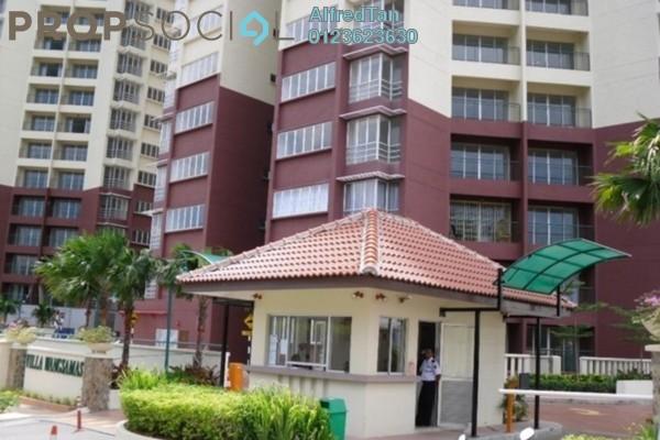 For Rent Condominium at Villa Wangsamas, Wangsa Maju Freehold Semi Furnished 3R/3B 1.7k