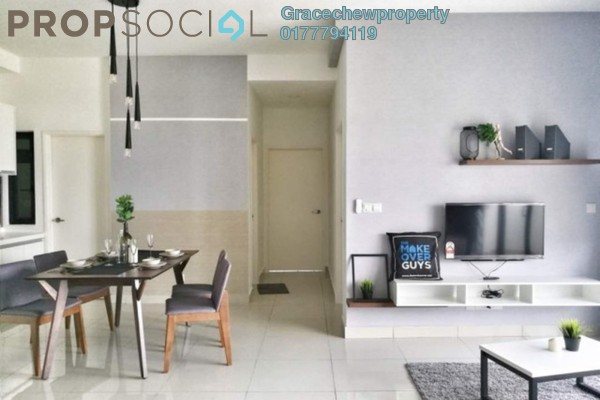 For Rent Condominium at The Meridin @ Medini, Medini Freehold Fully Furnished 3R/2B 2.48k