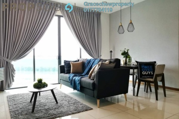 For Rent Apartment at Crescent Court, Brickfields Freehold Fully Furnished 3R/2B 2.6k
