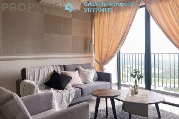 For Rent Serviced Residence at Citrine Residences, Sunway Iskandar Freehold Fully Furnished 2R/2B 2.68k
