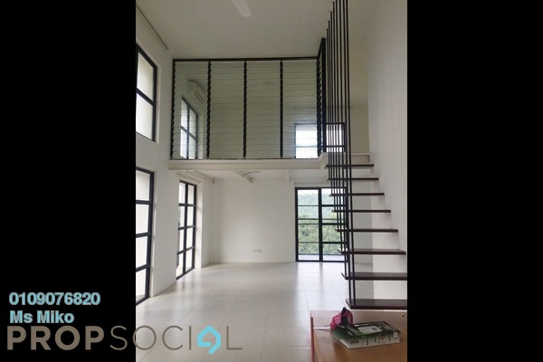For Rent Duplex at Empire City, Damansara Perdana Freehold Semi Furnished 1R/2B 1.8k
