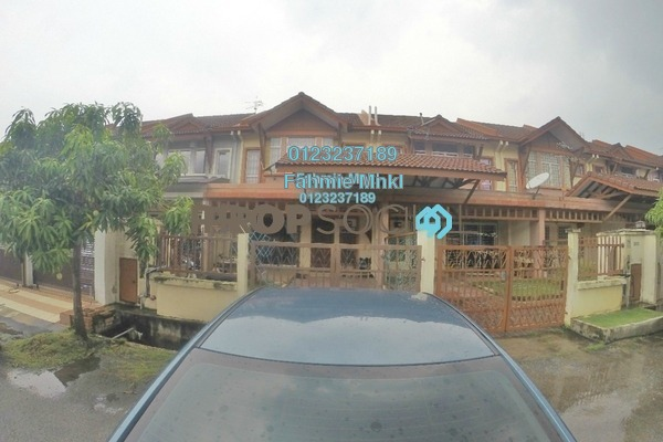 For Sale Terrace at Aspira, Bandar Bukit Raja Freehold Semi Furnished 4R/3B 570k