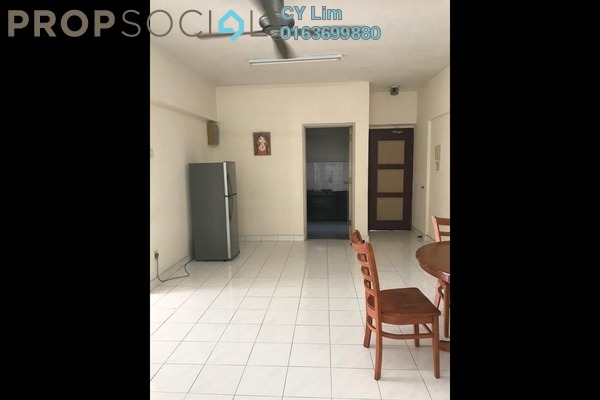 For Rent Apartment at Anjung Hijau, Bukit Jalil Freehold Semi Furnished 2R/2B 1.2k
