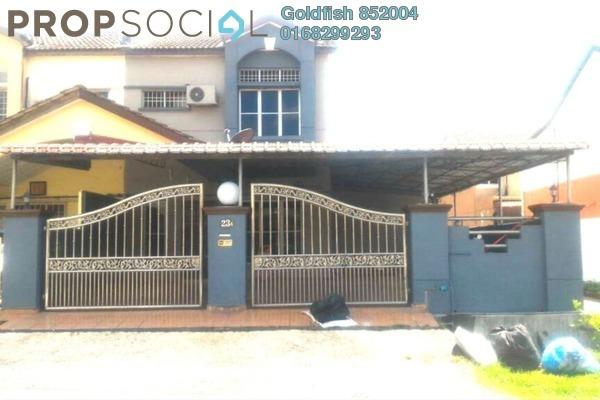 For Sale Terrace at Section 6, Bandar Mahkota Cheras Freehold Semi Furnished 6R/5B 620k