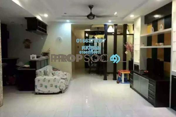 For Sale Terrace at Mutiara Residences, Bandar Bukit Raja Freehold Fully Furnished 5R/3B 759k