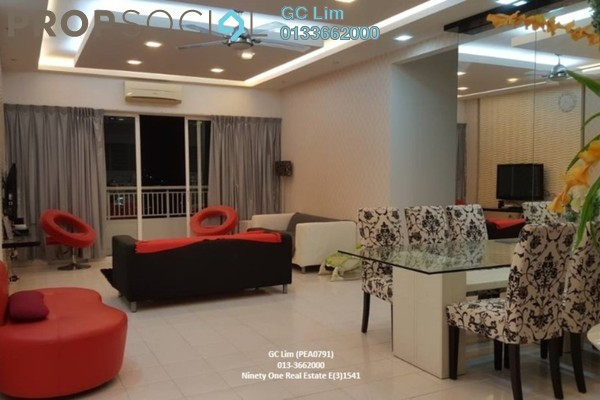 For Sale Condominium at Monte Bayu, Cheras Freehold Fully Furnished 3R/2B 550k