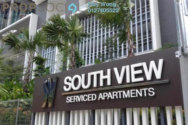 For Rent Serviced Residence at South View, Bangsar South Freehold Semi Furnished 3R/2B 2.6k