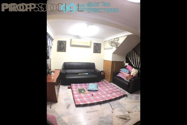 For Sale Terrace at Taman Menjalara, Bandar Menjalara Freehold Semi Furnished 3R/2B 595k