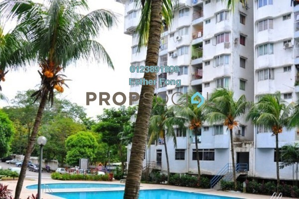 For Rent Apartment at Hijau Ria, Kepong Freehold Fully Furnished 3R/2B 1k