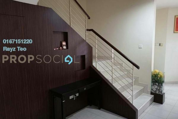 For Sale Semi-Detached at Adda Heights, Tebrau Freehold Semi Furnished 4R/4B 800k