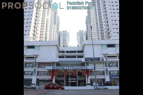 For Rent Shop at Maxim Citilights, Sentul Freehold Unfurnished 0R/0B 6.5k