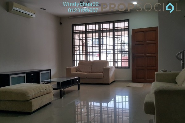 For Rent Terrace at Section 2, Bandar Mahkota Cheras Freehold Fully Furnished 4R/3B 1.5k