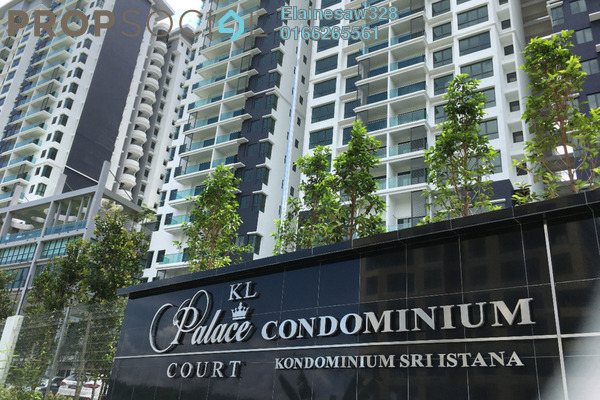 For Sale Condominium at KL Palace Court, Kuchai Lama Freehold Semi Furnished 2R/2B 430k