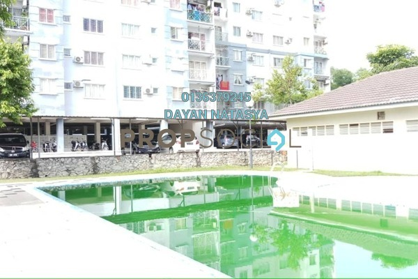 For Sale Apartment at Casa Riana, Bandar Putra Permai Freehold Unfurnished 3R/2B 280k